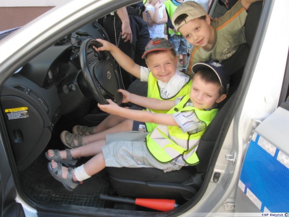 dzieci policji