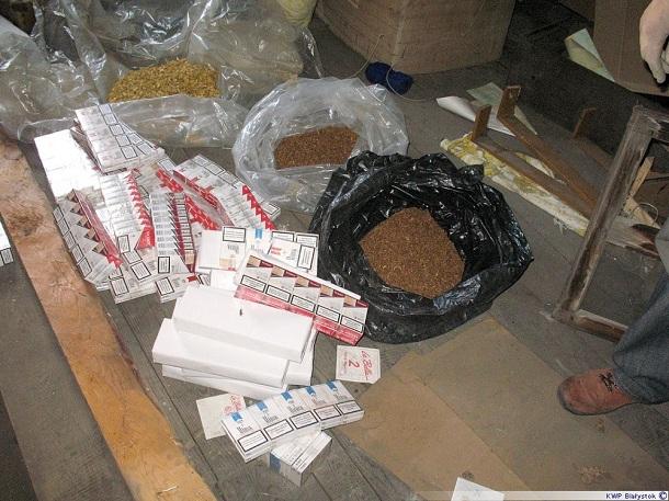 1200 paczek papierosów