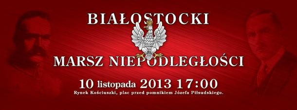 Marsz Niepodległości Białystok