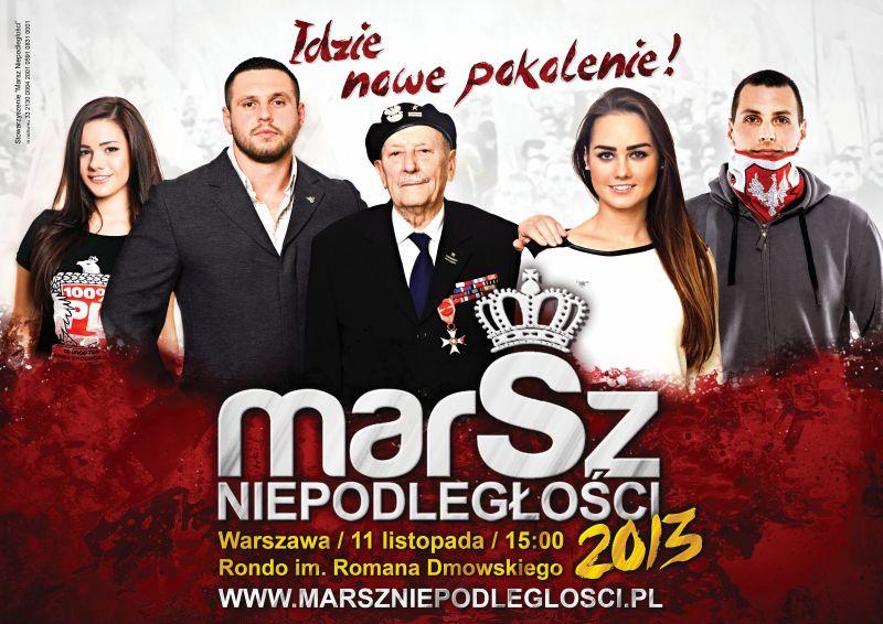 Marsz Niepodległości 2013
