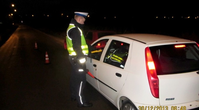56-latek zatrzymany za jazdę, 2,2 promila alkoholu w organizmie!