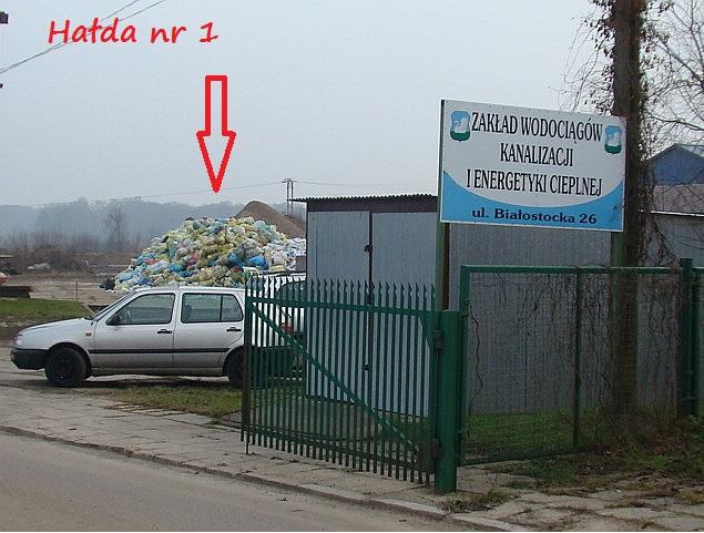 sortownia śmieci