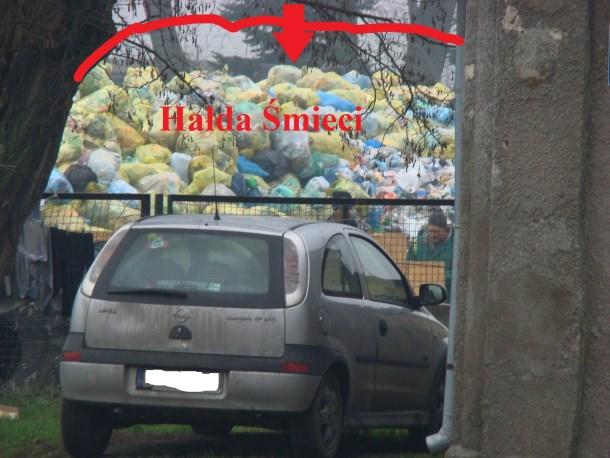 hałda śmieci