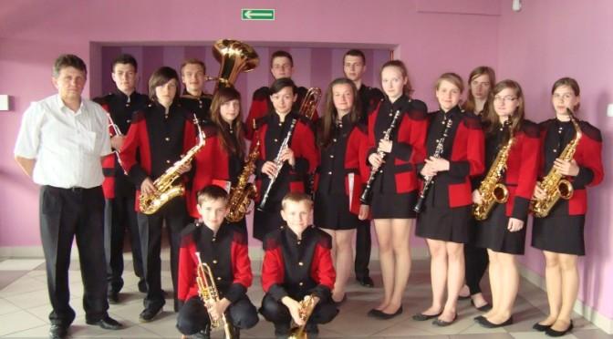 Koncert Młodzieżowej Orkiestry Dętej z GOK-u w Czyżewie