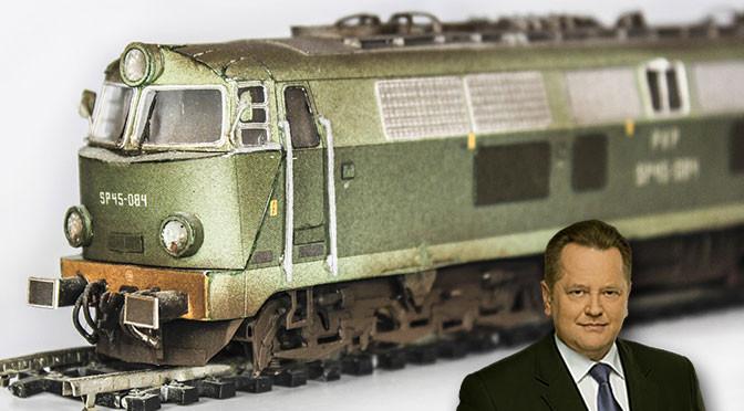 Zieliński i likwidacja kolei