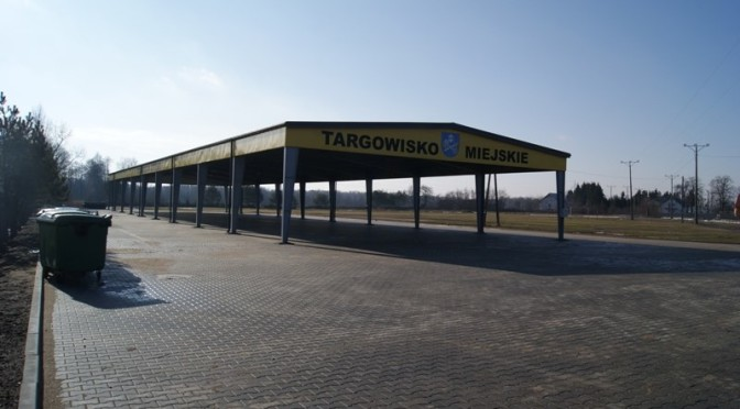 Hangar targowiska