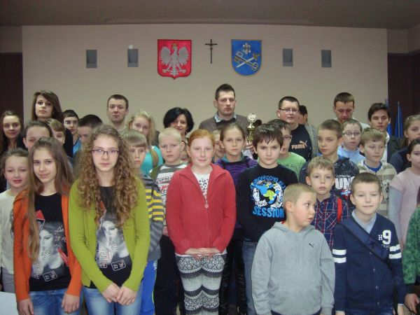 Uczestnicy turnieju szchowego