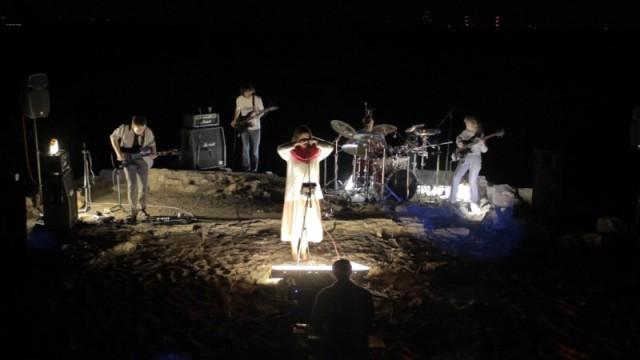 Koncert Upside na pustyni