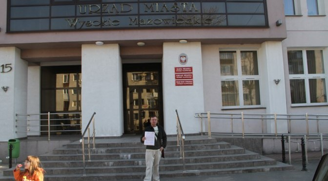 Mariusz Leoniak z listem otwartym