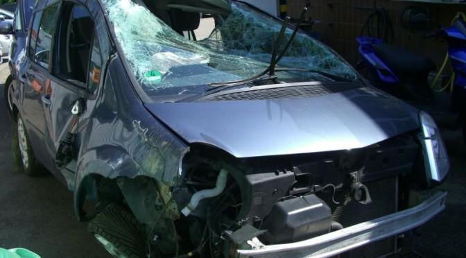 Wypadek w Brulinie