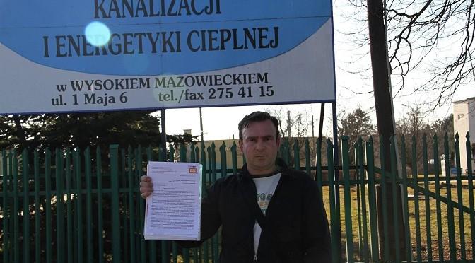 """""""List Otwarty"""" do ZWKiEC w Wysokiem Mazowieckiem"""