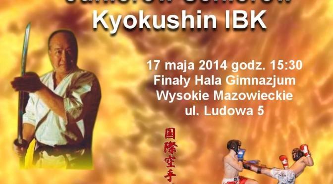 Puchar Polski Karate Kyoukushin IBK w Wysokiem Mazowieckiem