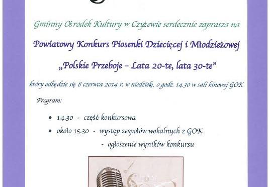 "Festiwal piosenki ""Lata 20-te, lata 30-te"" w Czyżewie"
