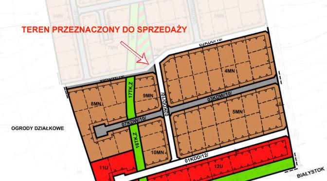 Miasto Wysokie Mazowieckie chce wyprzedać działki