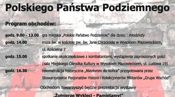 Uroczystości 75. rocznicy utworzenia Polskiego Państwa Podziemnego