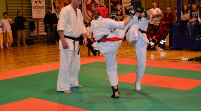 Karatecy na Międzynarodowych Mistrzostwach Polski International Budo Kai