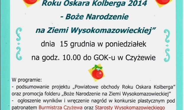 Czyżew: Powiatowe obchody Roku Oskara Kolberga