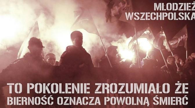 Spotkanie organizacyjne Młodzieży Wszechpolskiej