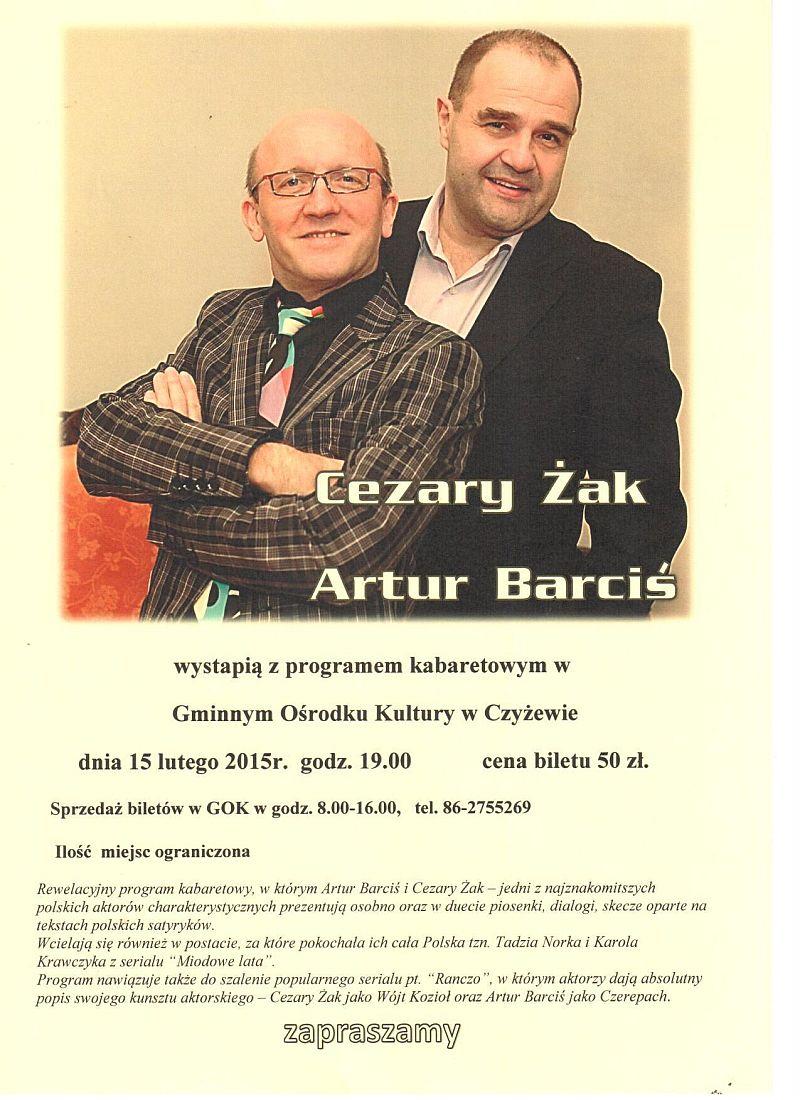 Kabaret Żak i Barciś