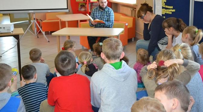 Cała Polska Czyta Dzieciom w Szkole Podstawowej w Święcku Wielkim