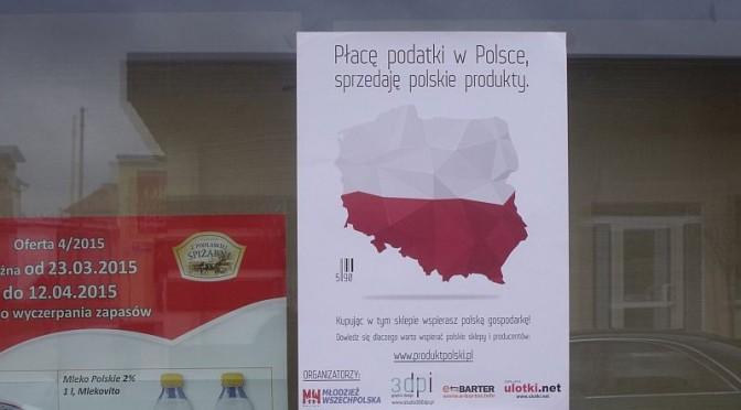Akcja Młodzieży Wszechpolskiej Kupuj Polskie Produkty